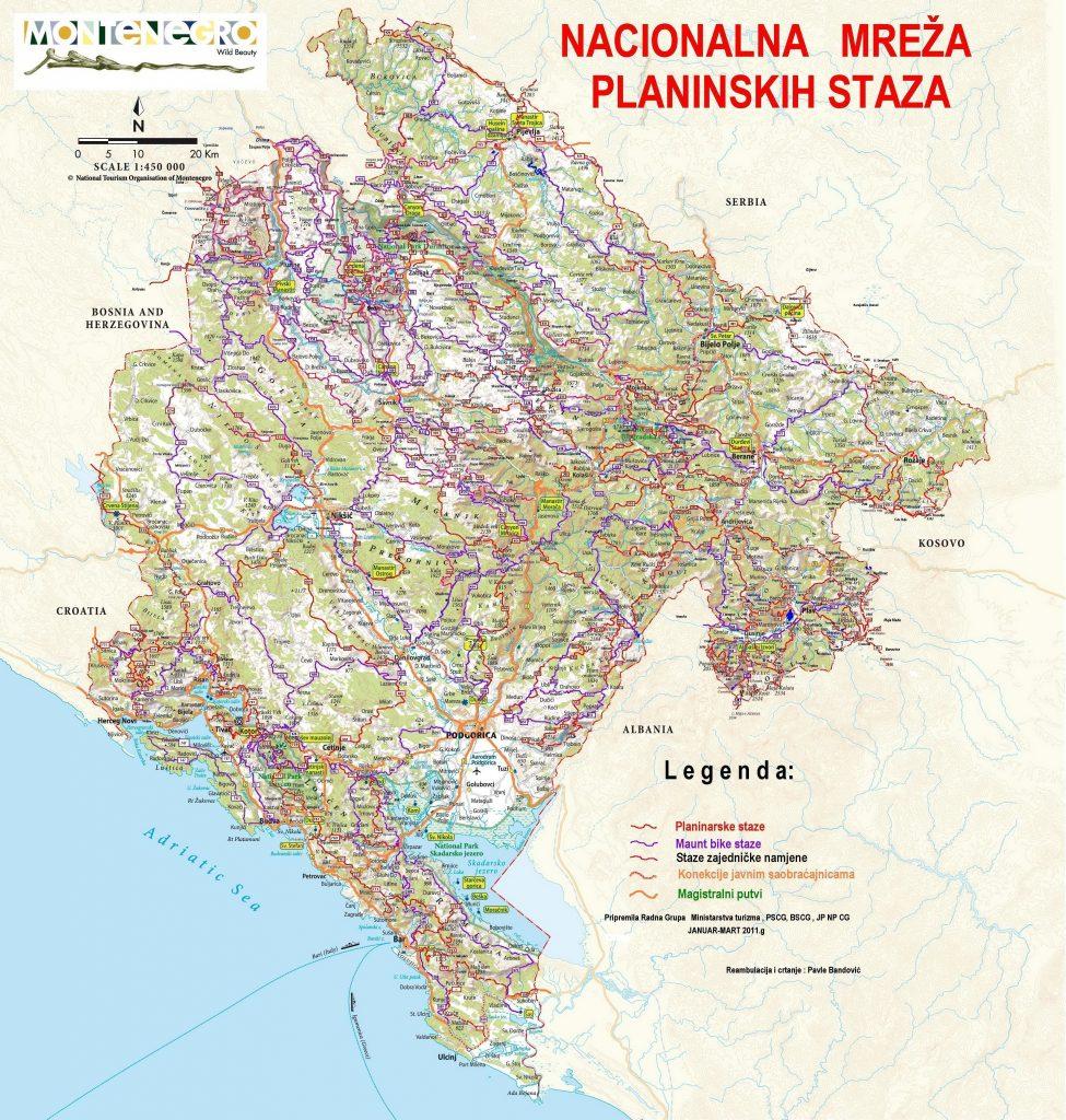 Biciklisticke planinske staze crne gore/ Mountain bike trails in montenegro