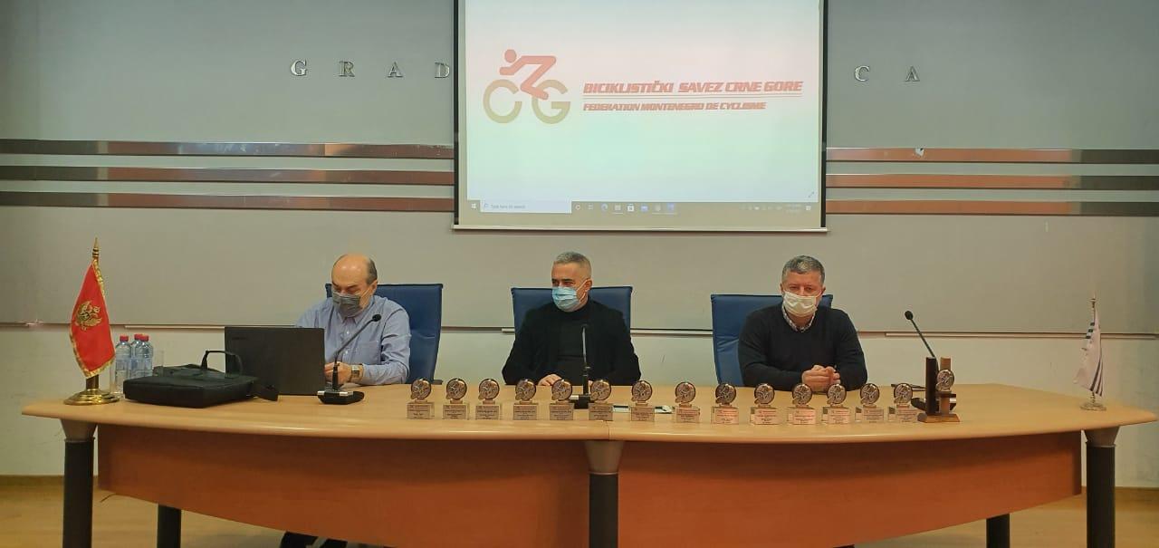 Dodjela priznanja najboljim biciklistima za 2020. godinu